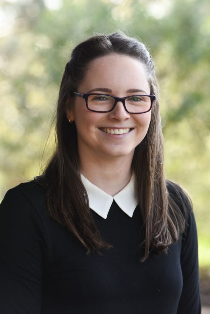 Postgraduate Caucus Representative Paige Fletcher